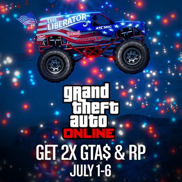 GTA Online Double GTA$ & RP