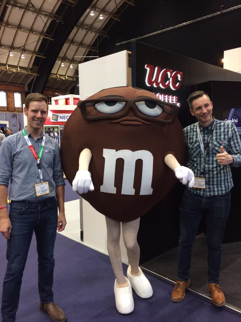 @AVEX2015 #msbrown on the UCC Stand with the boys! http://t.co/NgsWrCdfgV