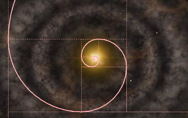 galaxy golden spiral