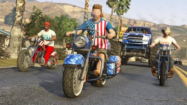 GTA Online Independence Day Update