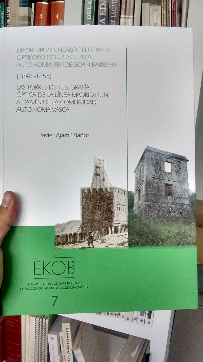 Muchísimas gracias Xabier por la mención. Es una publicación de nuestro compañero Javier Ajamil: Torres de Telegrafía Óptica #Madrid #Irun a través de la #CAV http://goo.gl/RfAkNy de J. Ajamil #Patrimonio #Ondare