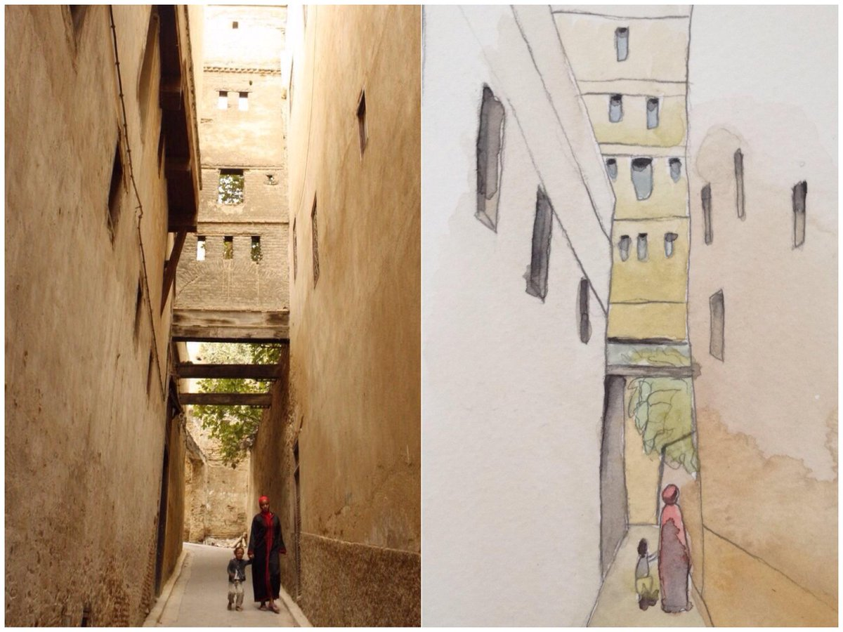 Watercolor illustrations, and the real-life travel experiences that inspired us to make them: http://t.co/nSBklY8DmV http://t.co/X1GnwZdT91