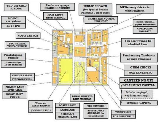 Ust Campus Map ustfreshmen on Twitter: