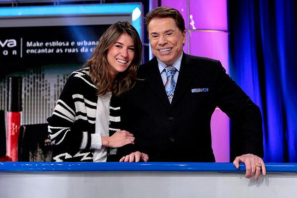 #RodaaRoda Silvio Santos recebe a filha Rebeca Abravanel nesta quarta http://t.co/mXKPSvHLPj