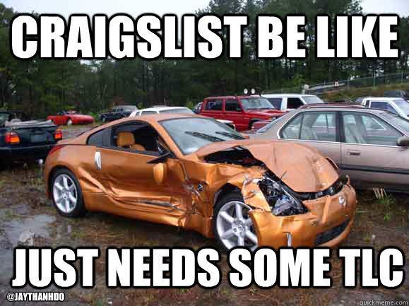 craigslistscam hashtag on Twitter