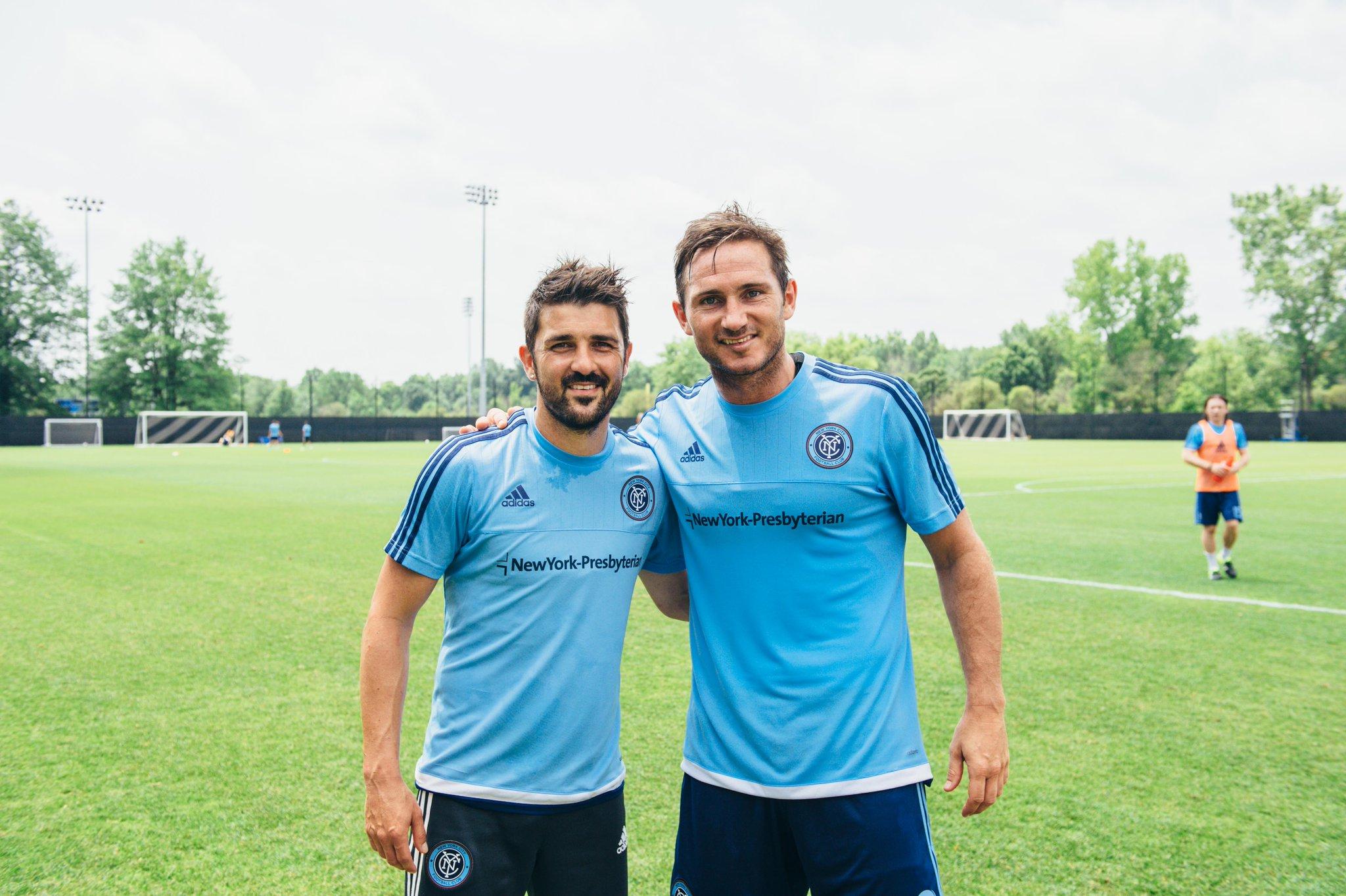 RT @NYCFC: .@Guaje7Villa and Frank Lampard #NYCFC http://t.co/VhIALDNpMF