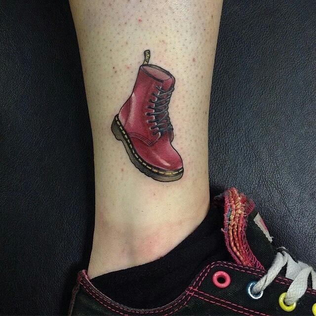 Northside Tattooz On Twitter Mini Dr Martens Tattoo By