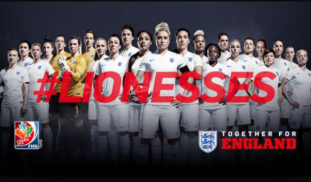 Good luck to #EnglandWomen tonight. #Lionesses http://t.co/4pX7giF6OF