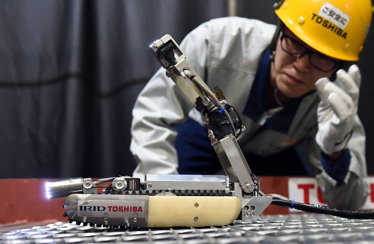 This Toshiba robot will go inside the Fukushima nuclear reactors to confirm damage levels: