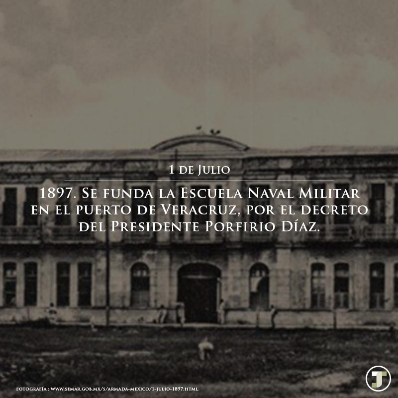 Resultado de imagen para Se funda la Escuela Naval Militar en el puerto de Veracruz