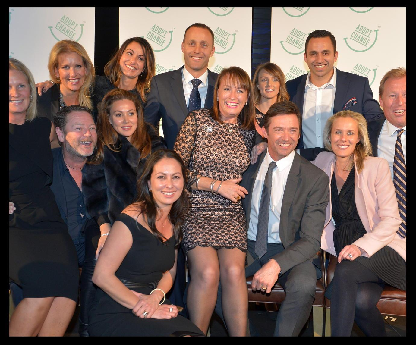 Thanks to David Fox and the Fox family for their support of @AdoptChangeAU and a hugely successful evening http://t.co/77Op7Yvt4N