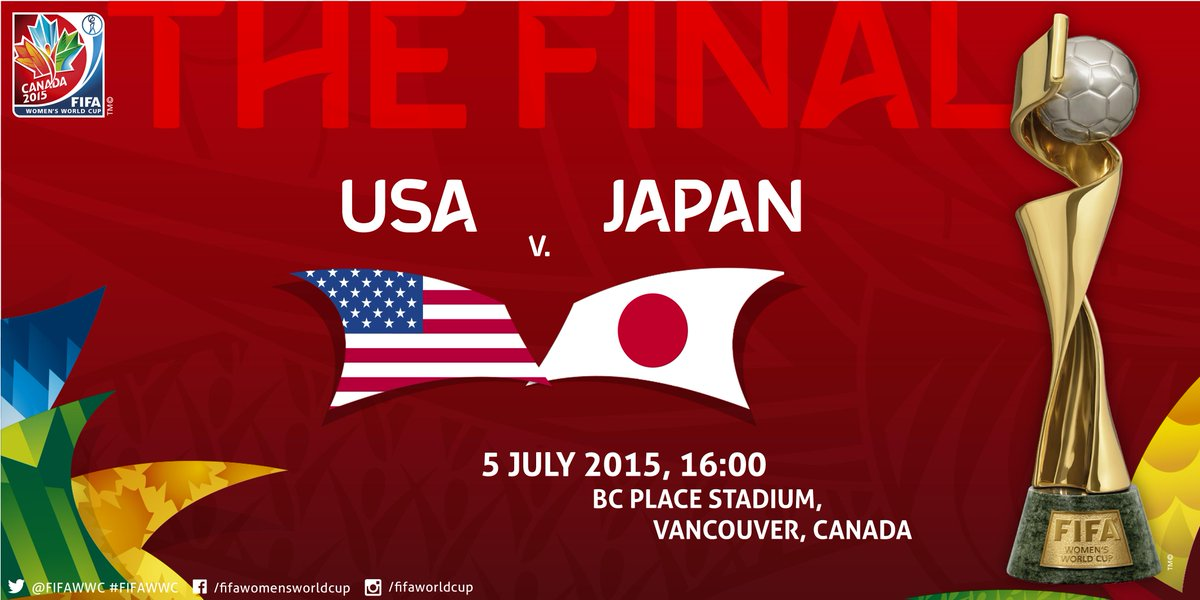 FT: #JPN 2-1 #ENG. Holders through in a dramatic ending. They face #USA in the Final. http://t.co/jHYhDo8FNp http://t.co/TkXYglAt5K