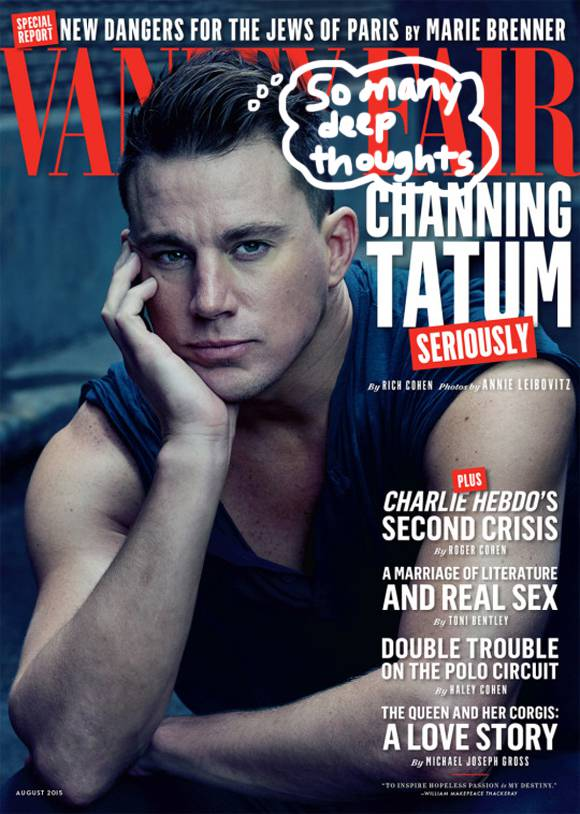Happy Wednesday! Check out #ChanningTatum's beautiful arms and gorgeous gaze! https://t.co/XQh35TdSqa http://t.co/pQoTufAAoT