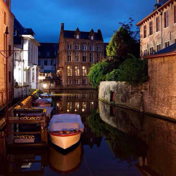 Brujas, en Bélgica. Considerada una de las ciudades más románticas del mundo.