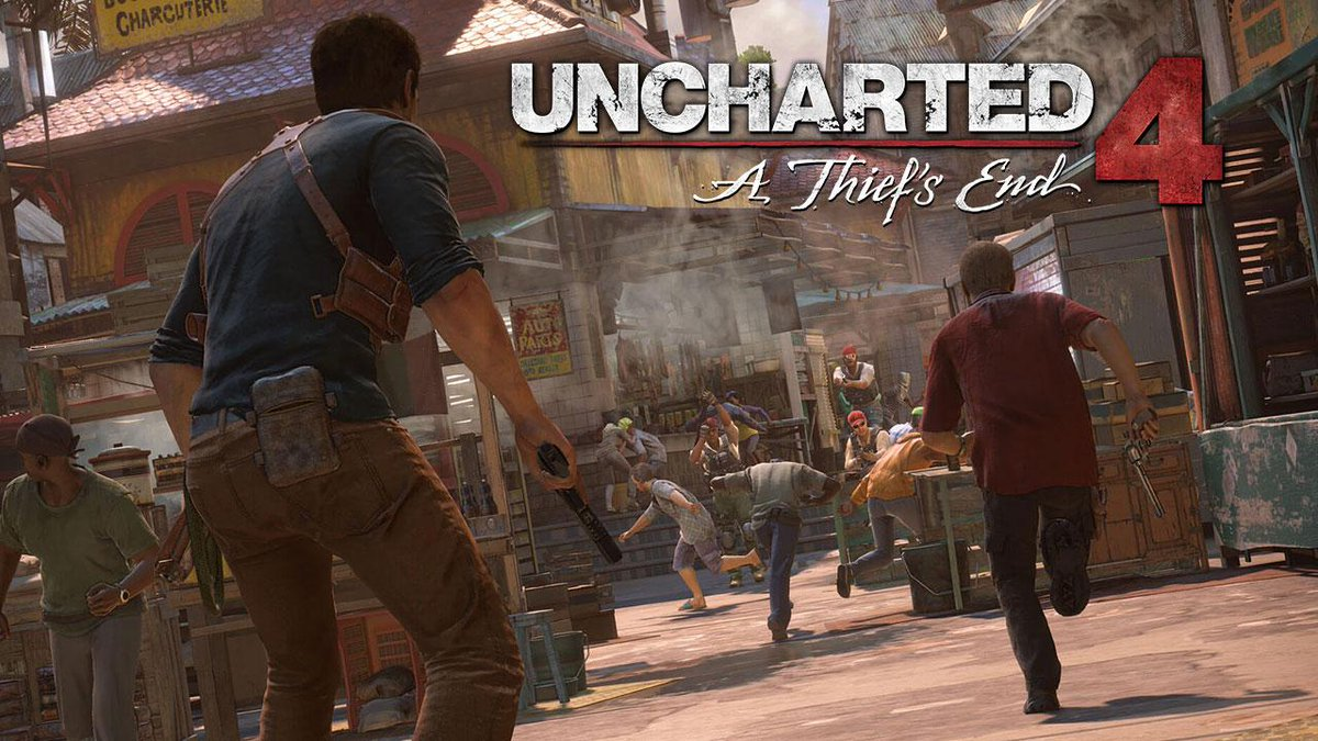 nathan drake uncharted 4 gameplay