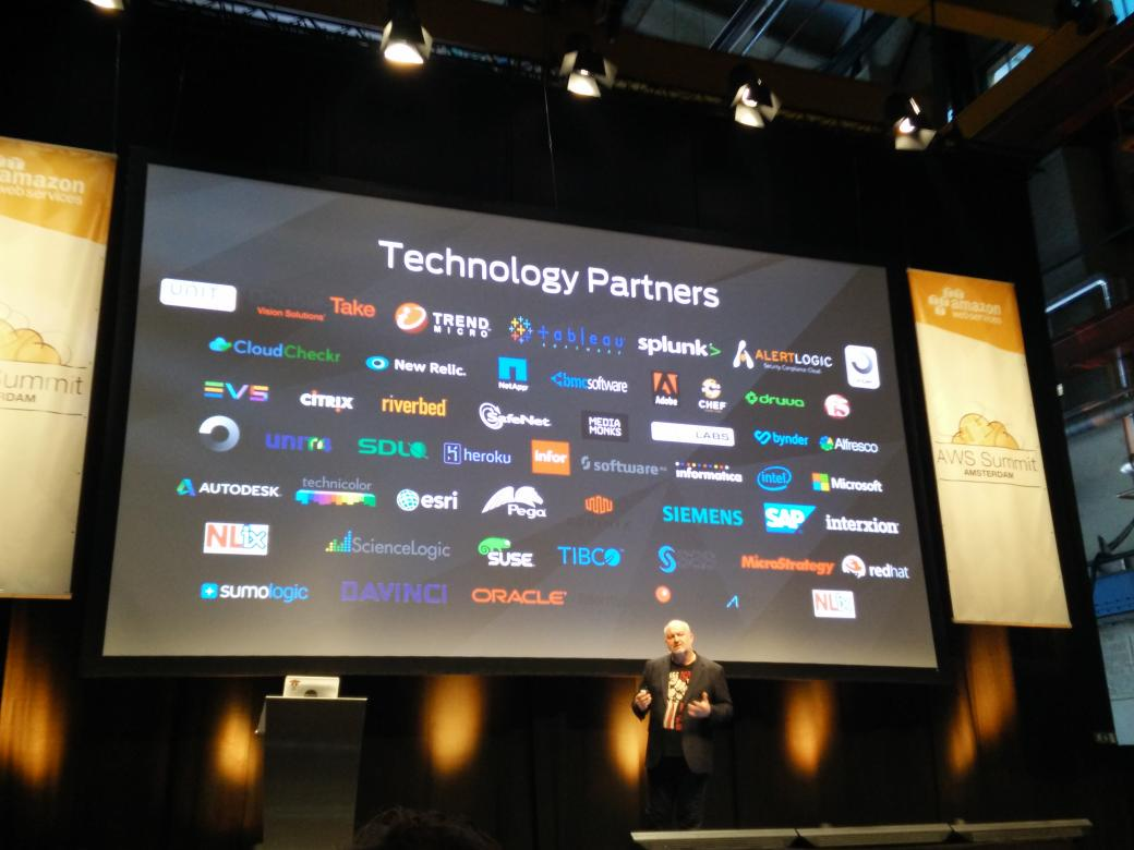 @SDL is an @awscloud technology partner #AWSSummit http://t.co/SuuqokhtFW