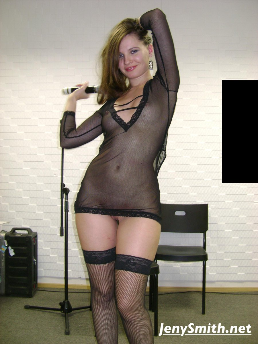 Female naked singer