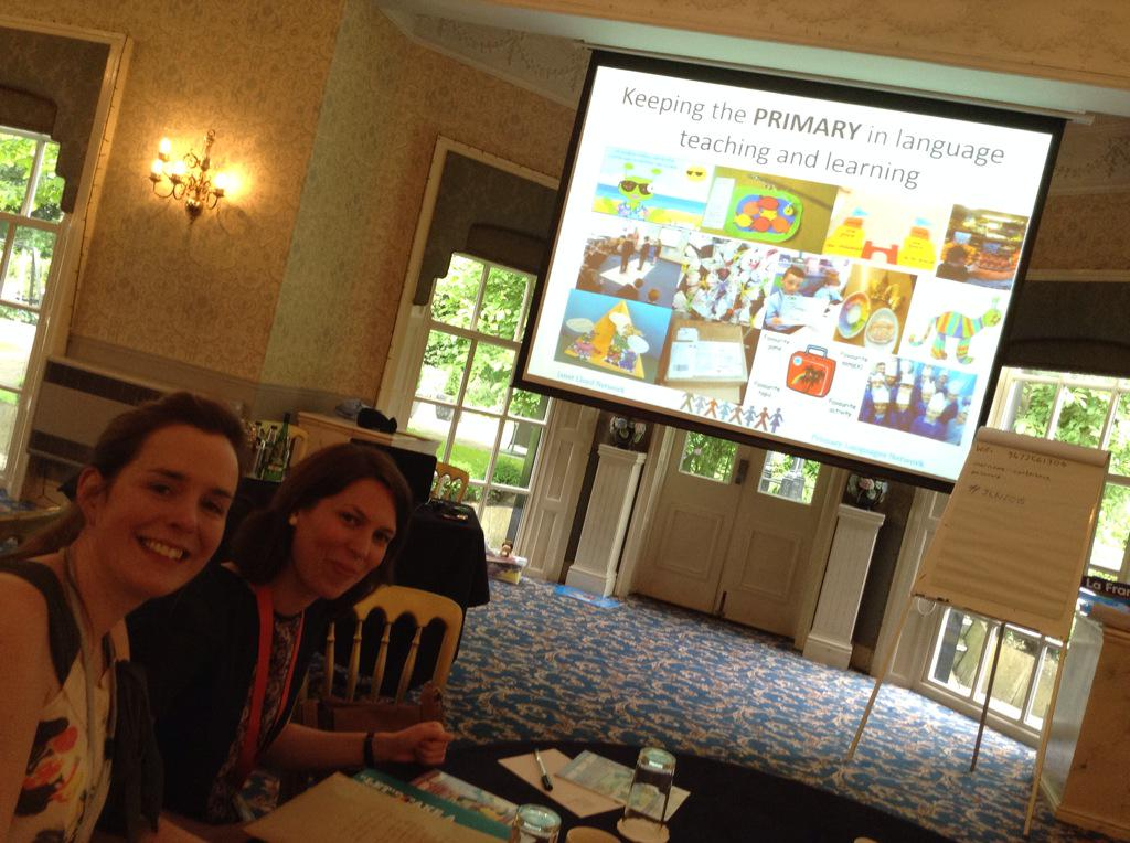 Excited about @JanetLloydnet Primary Languages Conference! Lovely to see @EWoodroffe @DeprezPrez #JLN2015 http://t.co/MiIZMlR9Dd