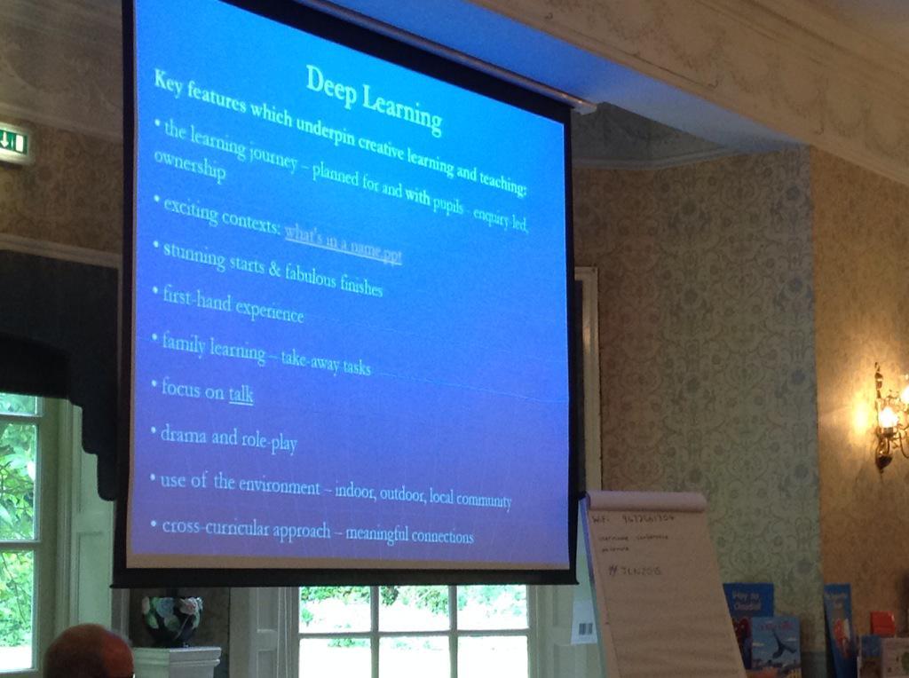 Cross curricular deep learning by Elaine Minett at #JLN2015 http://t.co/ySOFPvCbl8