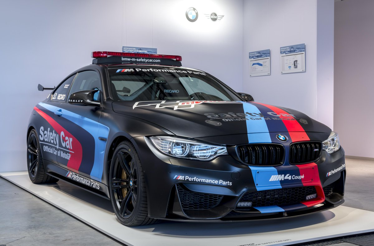 Bmw On Twitter First In A Bmw M4 Motogp Safety Car Now Shown In A Bmw 1series Direct Water Injection Bmwgroup Innovation Days Http T Co T67ngbww8h