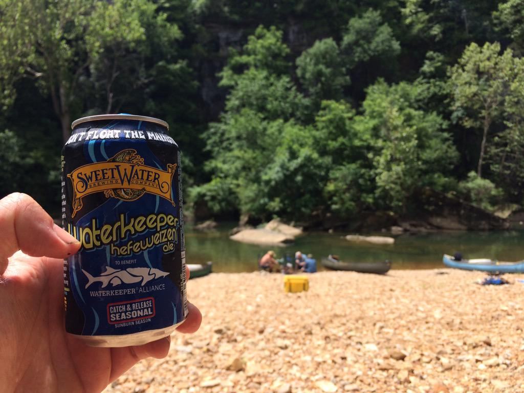 A good beer for the 4th? Support our @Waterkeeper partners and buy @sweetwaterbrew Hefeweizen. It's that easy! http://t.co/DvIVj9v305