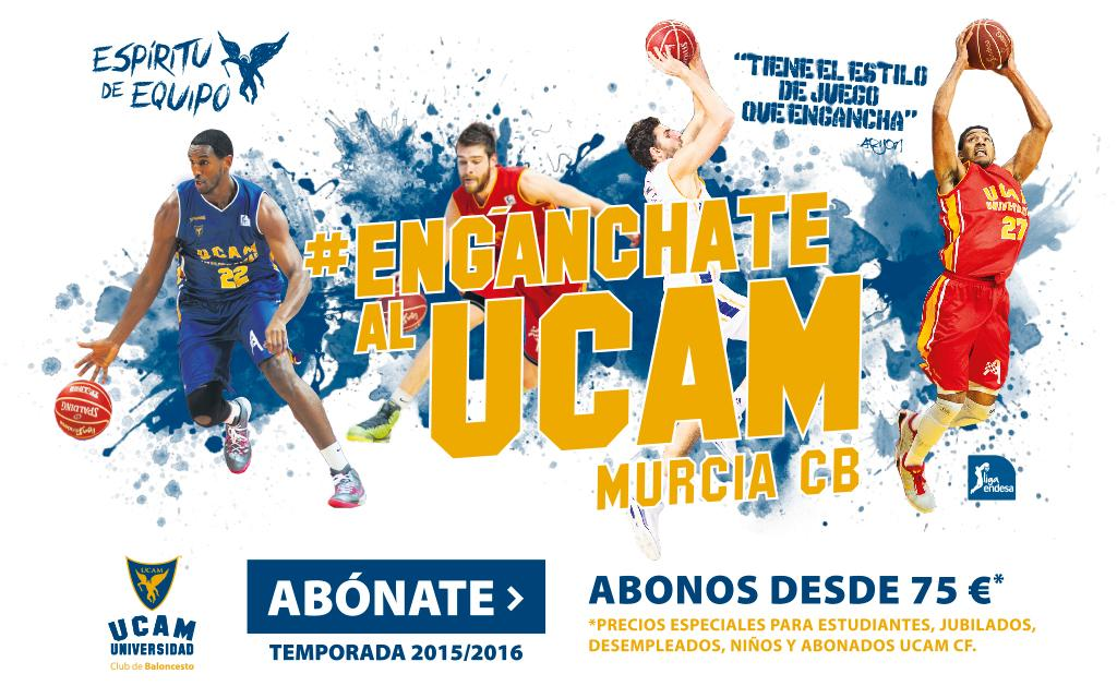 ¡Ya está aquí la campaña de abonos del @UCAMMurcia!  http://t.co/zGme2tr2M6 #EngánchateAlUCAMMurciaCB http://t.co/LDdAzNBKmi