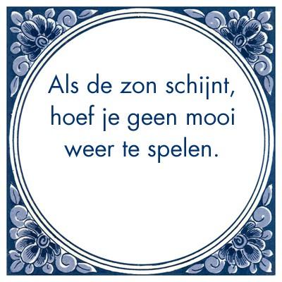 spreuken over mooi weer Martijn Wessels on Twitter: