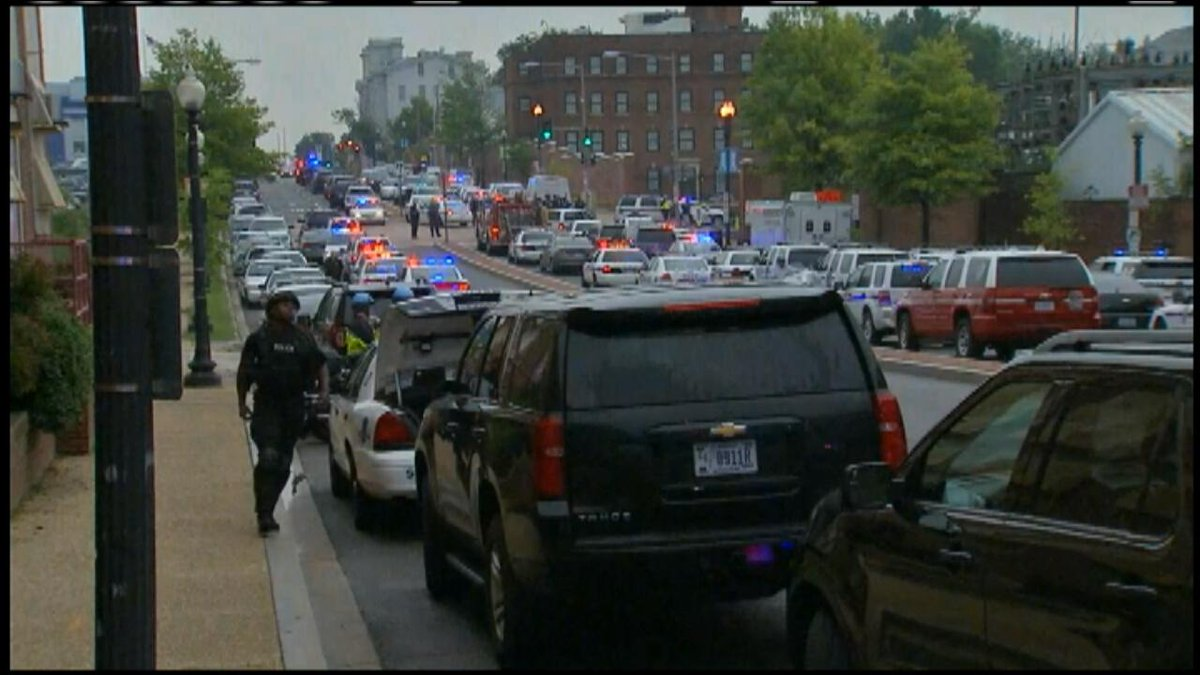 #BREAKING: Navy Yard in Washington D.C. on lockdown. Reports of shots fired. WATCH LIVE: https://t.co/QF13hKdEHs http://t.co/5iJEaYE6pk