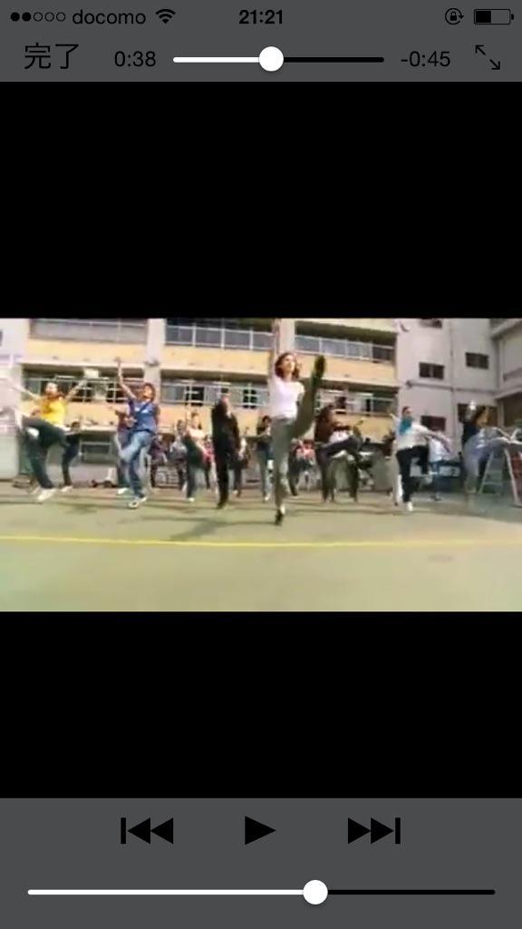 女王の教室 ダンス