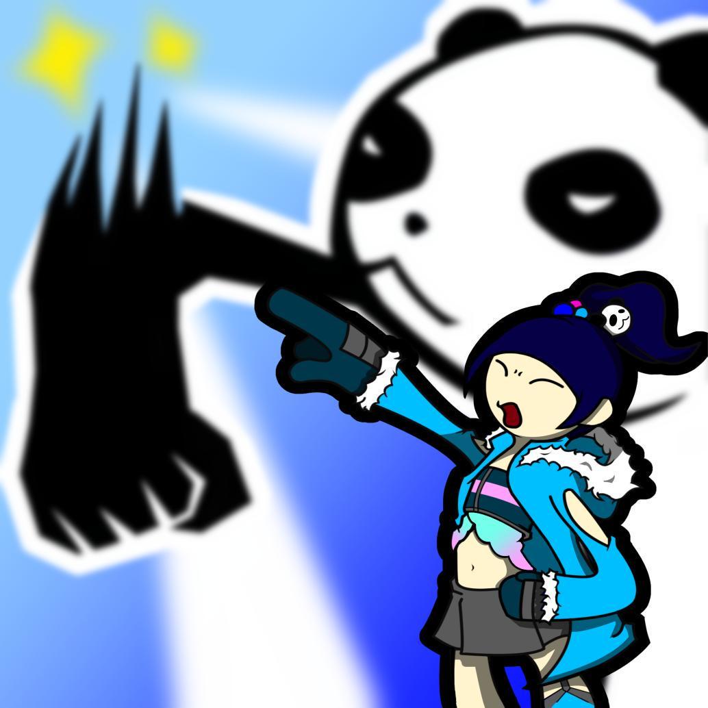 さとぅんΓ on Twitter \u0026quot;ピンキー怒りの大熊猫円舞槍(槍を使うとは言ってない) でんぱ組でんぱイラスト ファンキルファンアート http//t.co/ePGrrqOKy4\u0026quot;