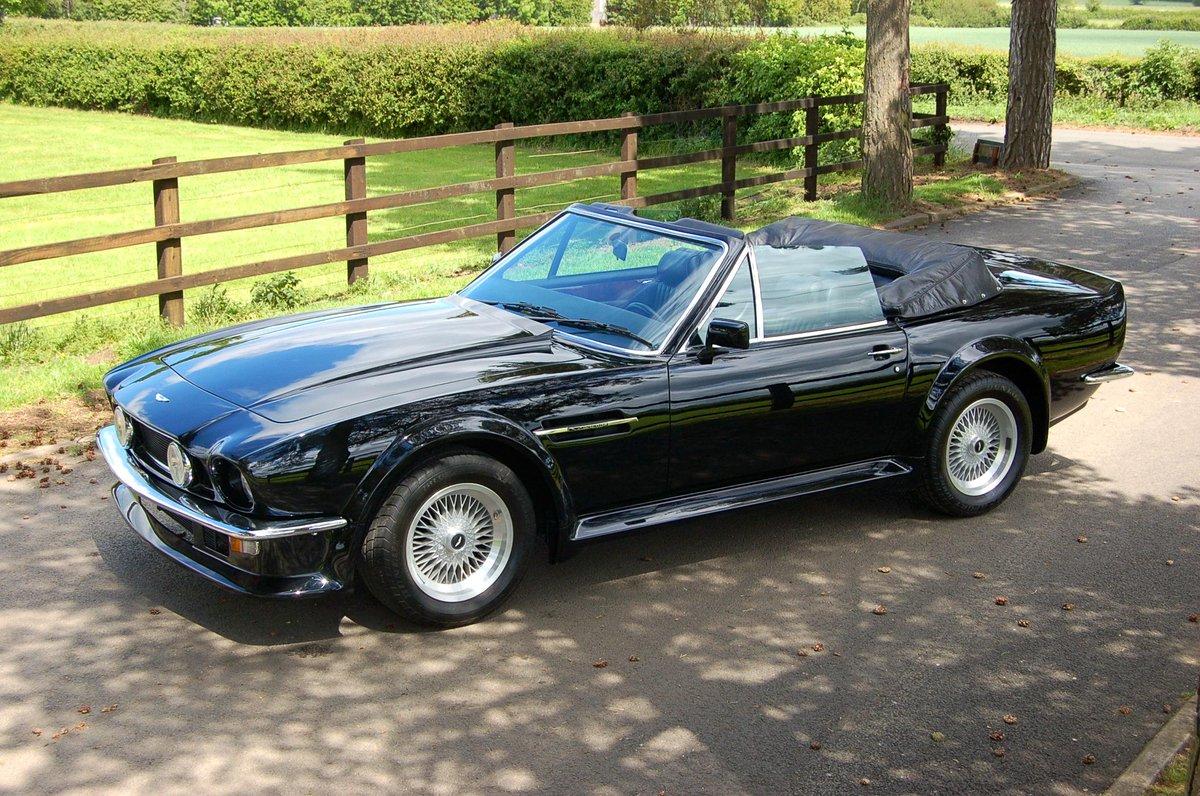 Keith Riddington On Twitter Aston Martin V8 Vantage Volante X Pack