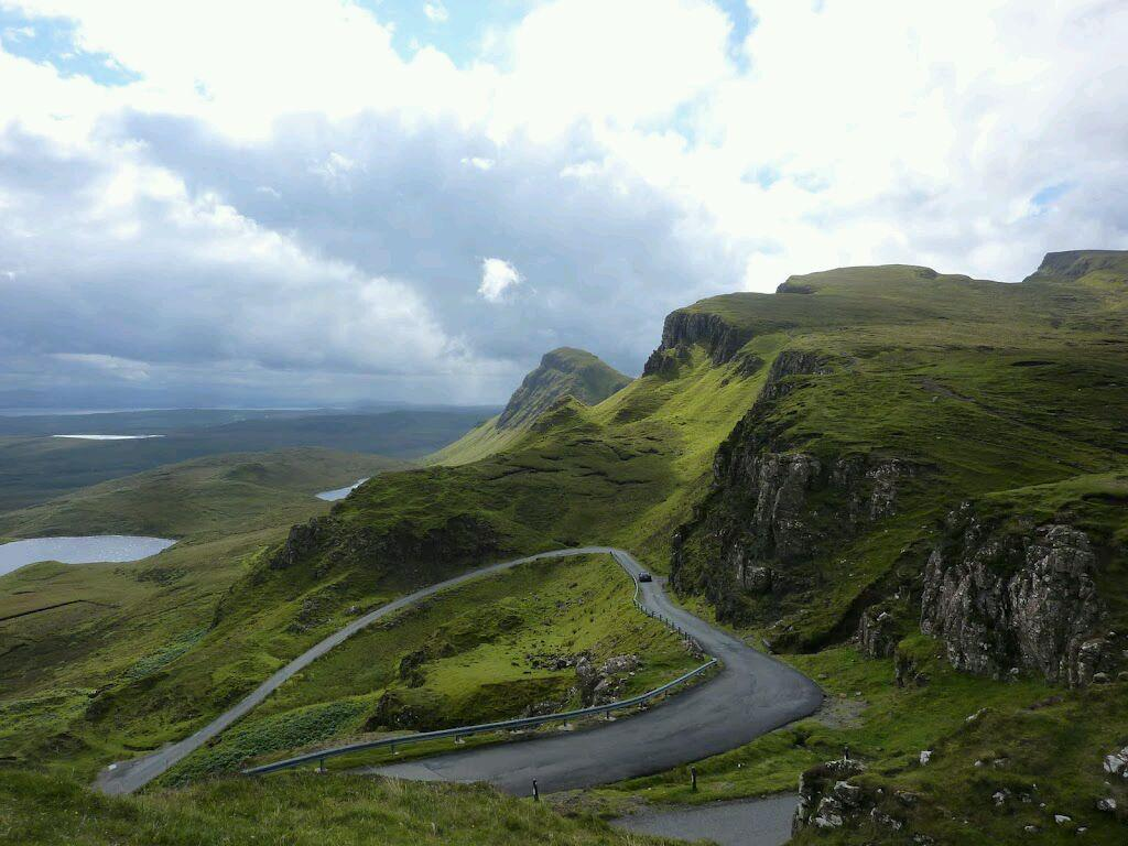 I love the Quiraing on Scotland's Isle of Skye. http://t.co/MSmGtv19Pq