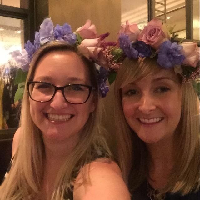 Two Blondes Flower Crown
