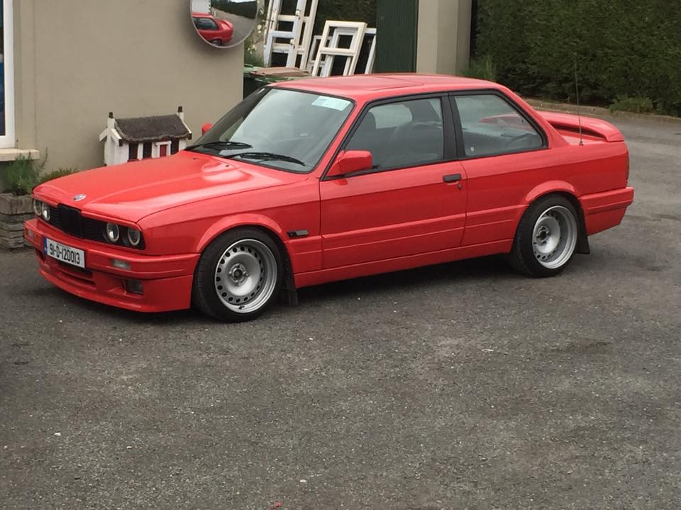 E30 Owners On Twitter Kenneths E30 With Banded Steelies Irish