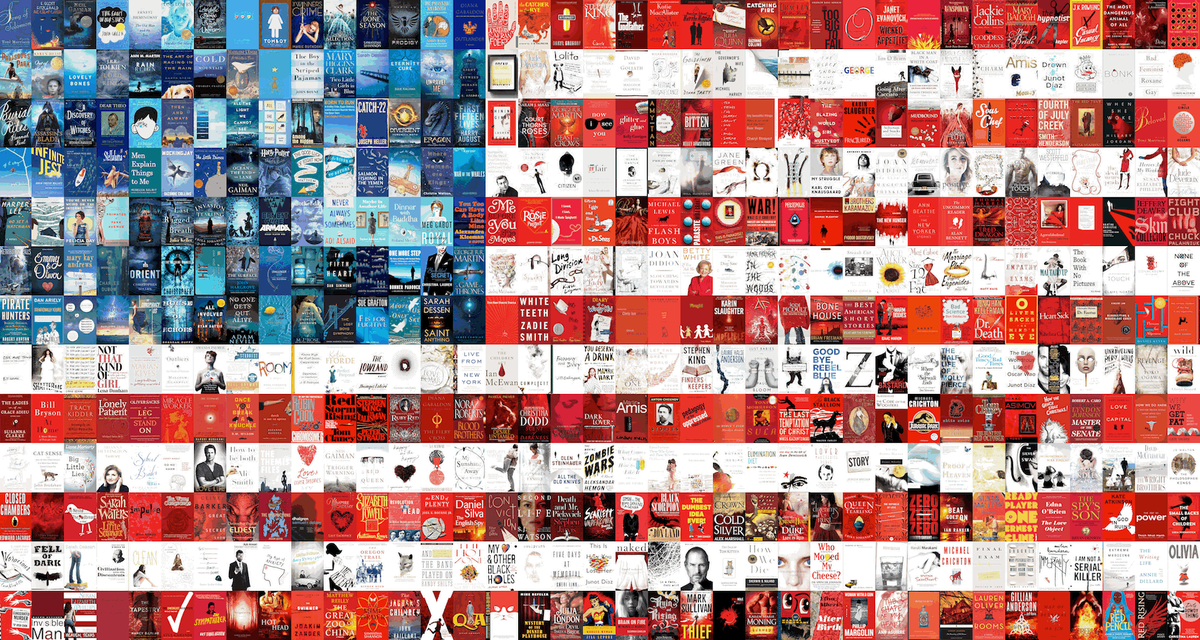 The United Books of America: Our Literary Version of the American Flag http://t.co/VQidcBrHhE http://t.co/R7jlfCZTL3