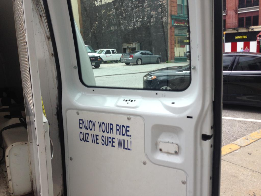 NEXT ON 11 NEWS: A questionable sign found inside a Baltimore police van.  @kateamaraWBAL has the story next. #wbal