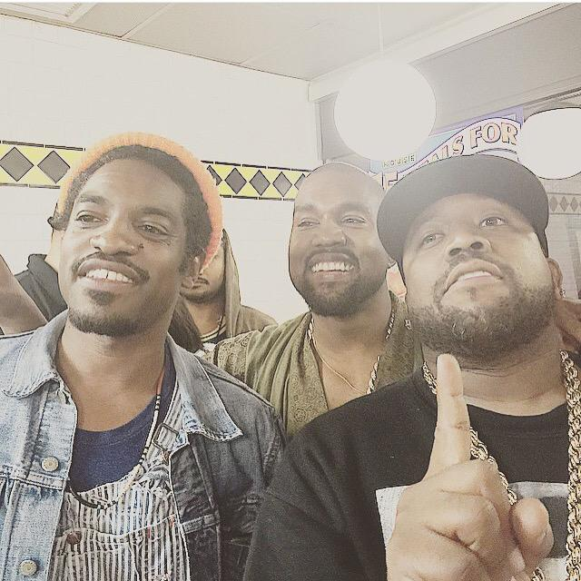 Kanye and Outkast