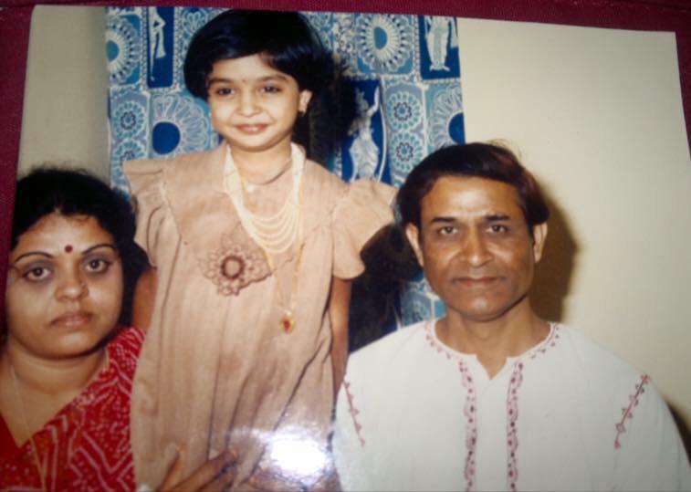anu prabhakar daughter photos