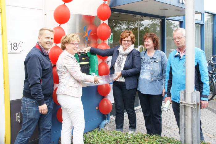 AED-buitenkast in Wateringen