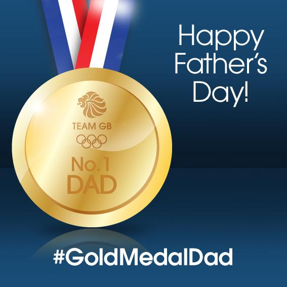 "Team GB on Twitter: ""Happy Fathers day! Share this gold ..."