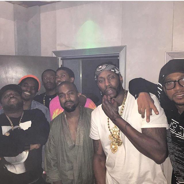 Kanye,2Chainz and Friends