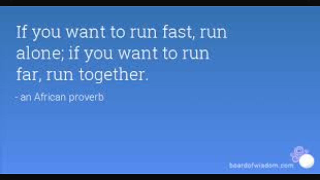 Dan @KI_Jakarta, kalau kita mau lari jarak jauh, memang lebih enak kalau tidak sendirian. :) @IndoRunners #KIRun http://t.co/Y13jIZ0lK3
