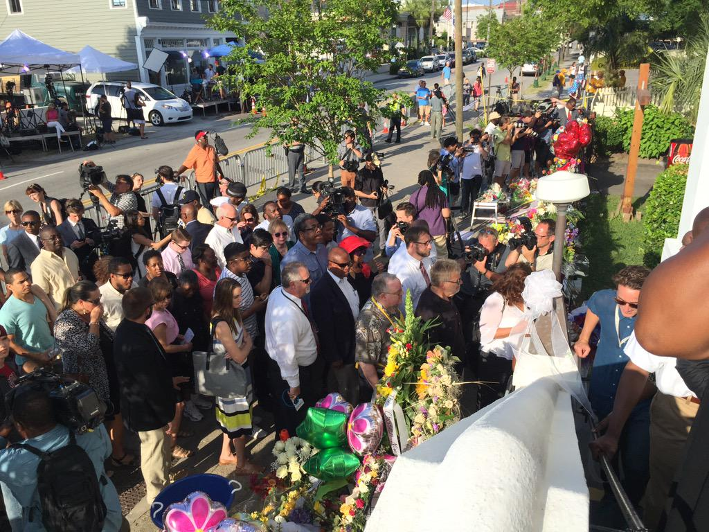 Nine People Killed in Charleston Church Shooting; Massacre Suspect Dylann Storm Roof Arrested CIBr3taUMAEKydO