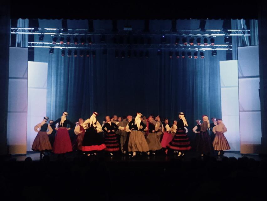 Saulgriežus koncertzālē ielīgo @Ligo_TDA un @RajeckaOlga !