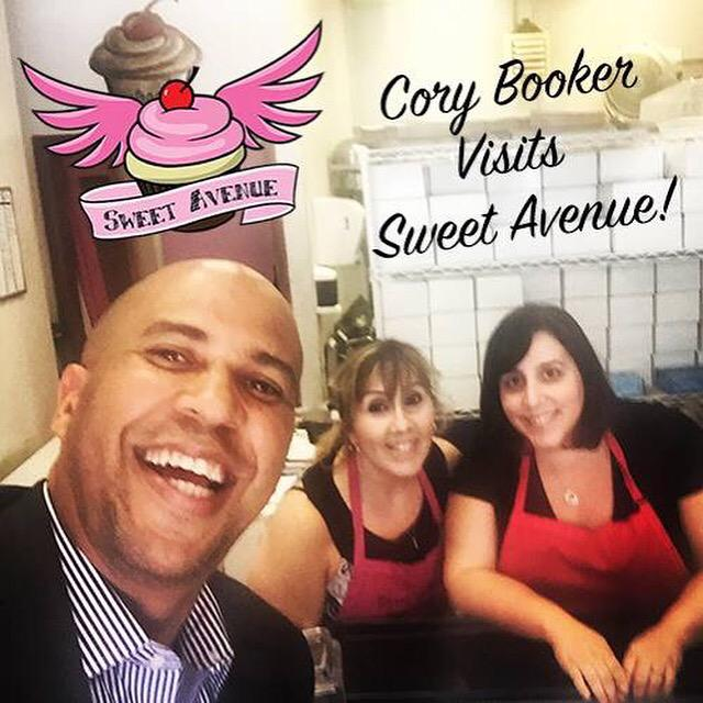 The best senators are the ones that visit #vegan bakeries & take selfies. Thanks @CoryBooker! http://t.co/JWKQEblVr6