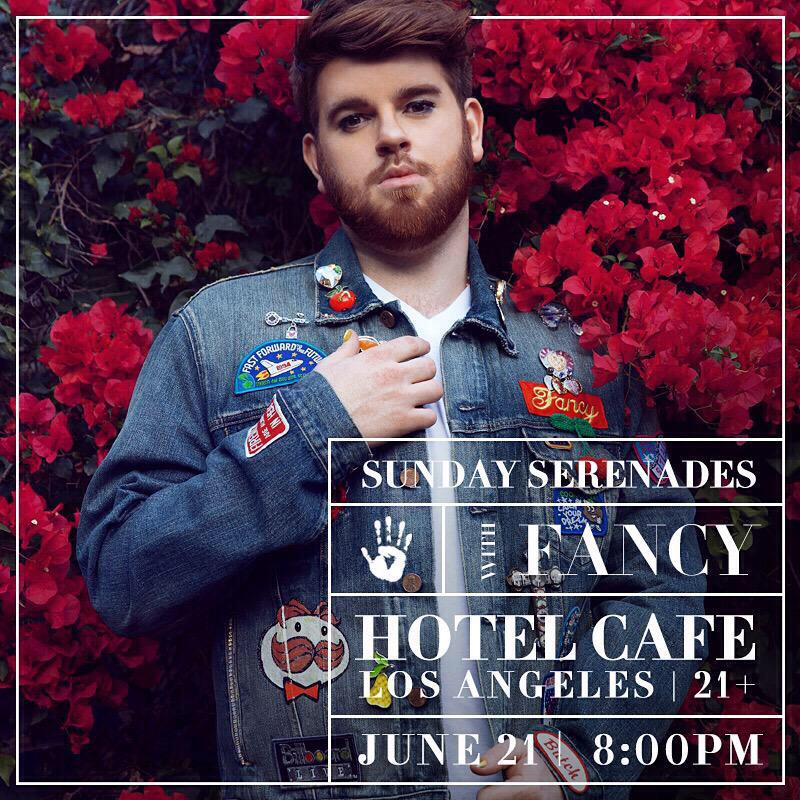 """@thehotelcafe: So excited to have @whoisfancy back tonight! http://t.co/nS88GKruKP"""