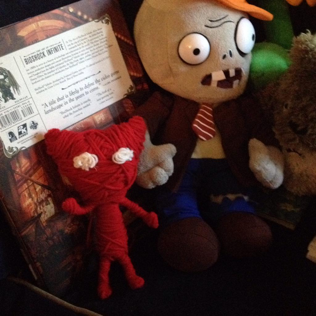 @unravel_game made my own Yarny today ^_^ #unravel #Yarny http://t.co/ohX8dwuuaR