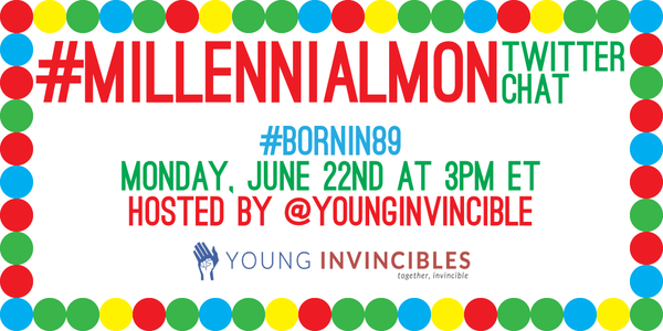 If you were #Bornin89, join us at 2pm CST for a #MillennialMon chat to #getcovered before you get kicked off! http://t.co/9Ig5y6aupr