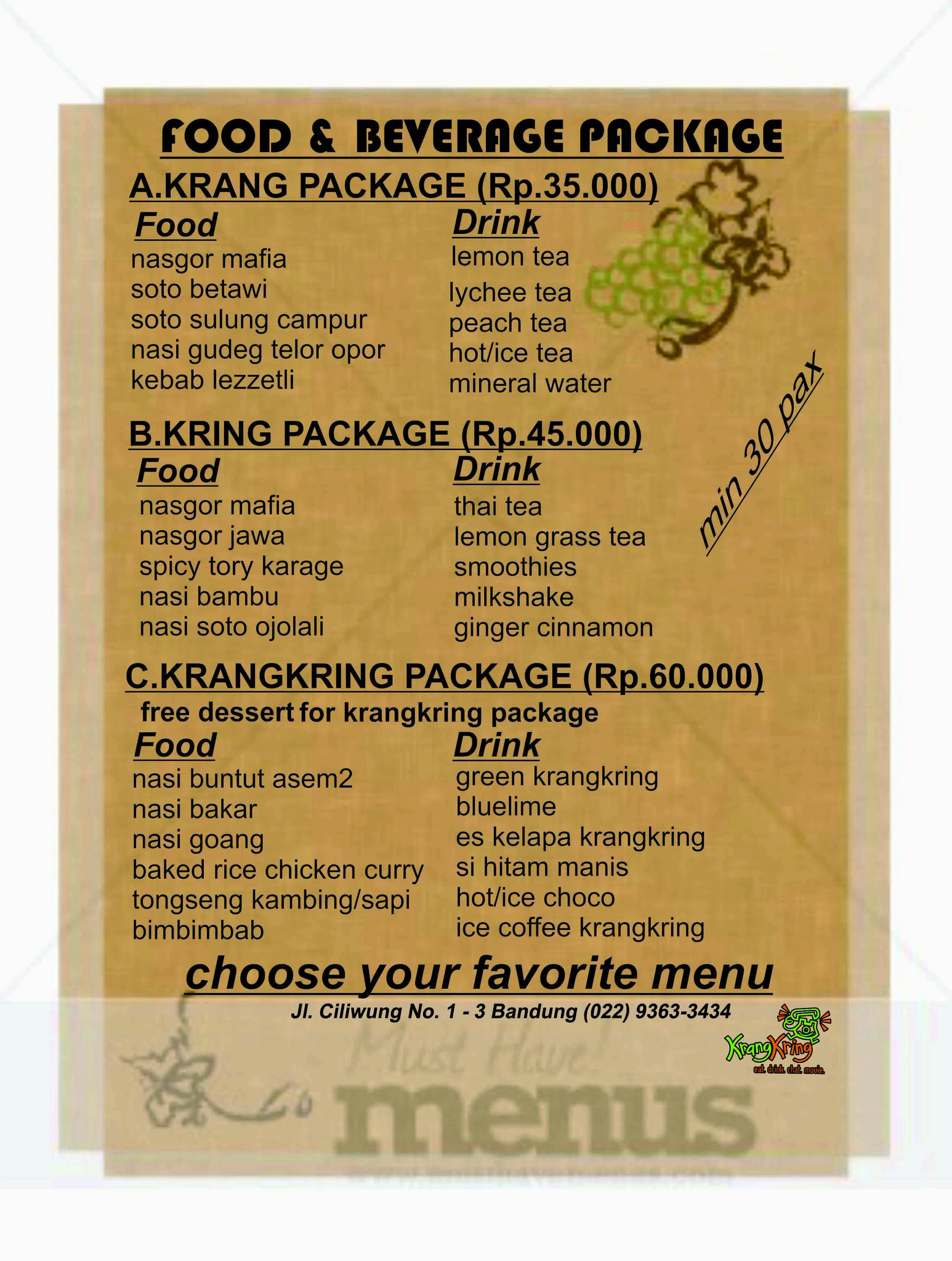 Asem2txt Warung Asem Asem Koh Liem Semarang Restaurant Reviews
