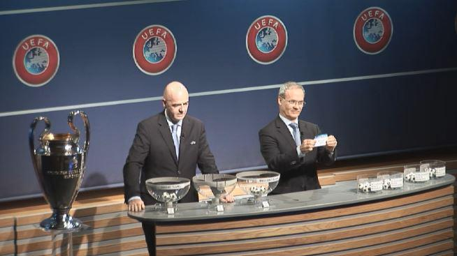 The moment Vardar's name was drawn